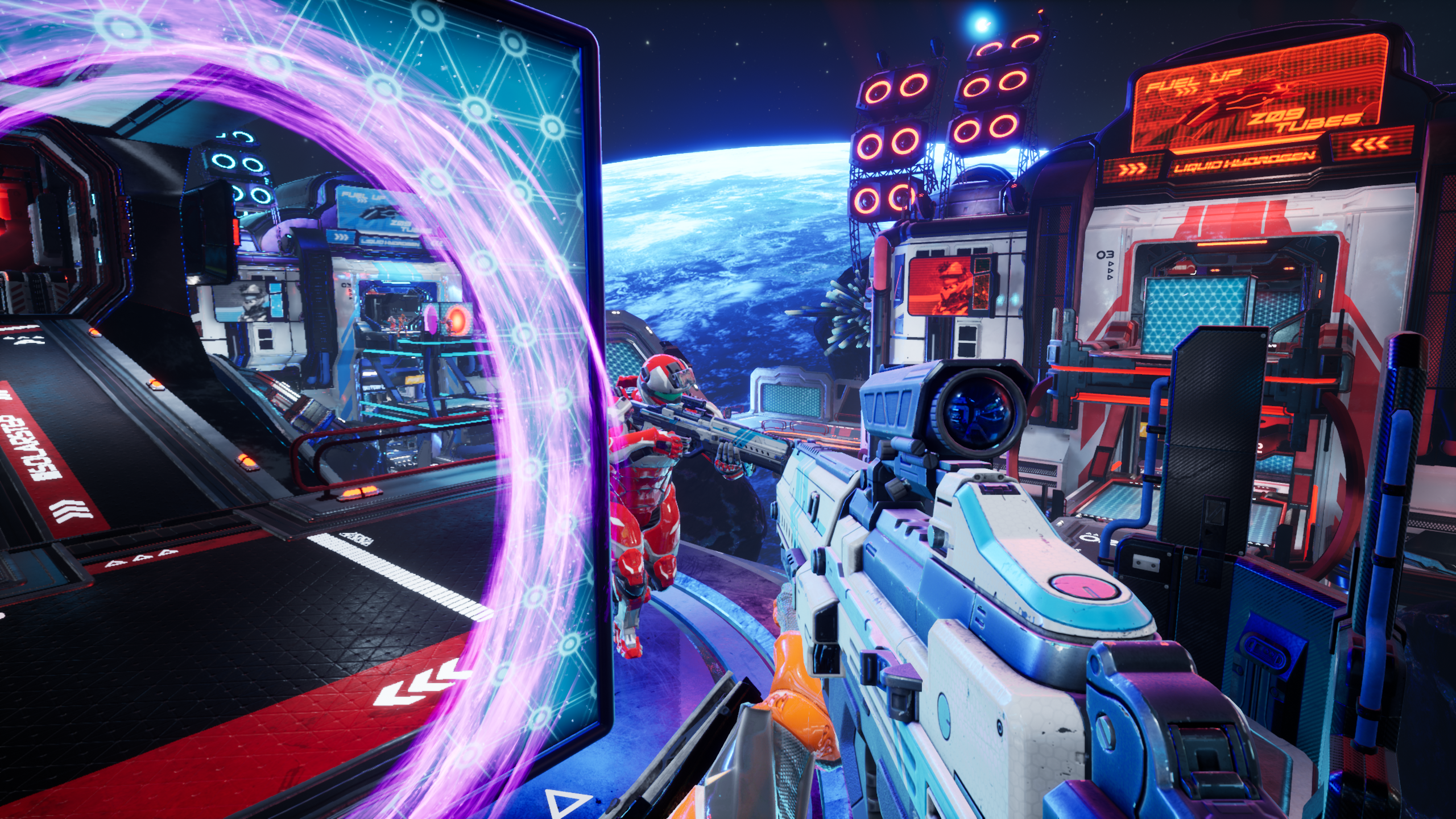 Splitgate: Arena Warfare Does the Unthinkable by Adding Portals to