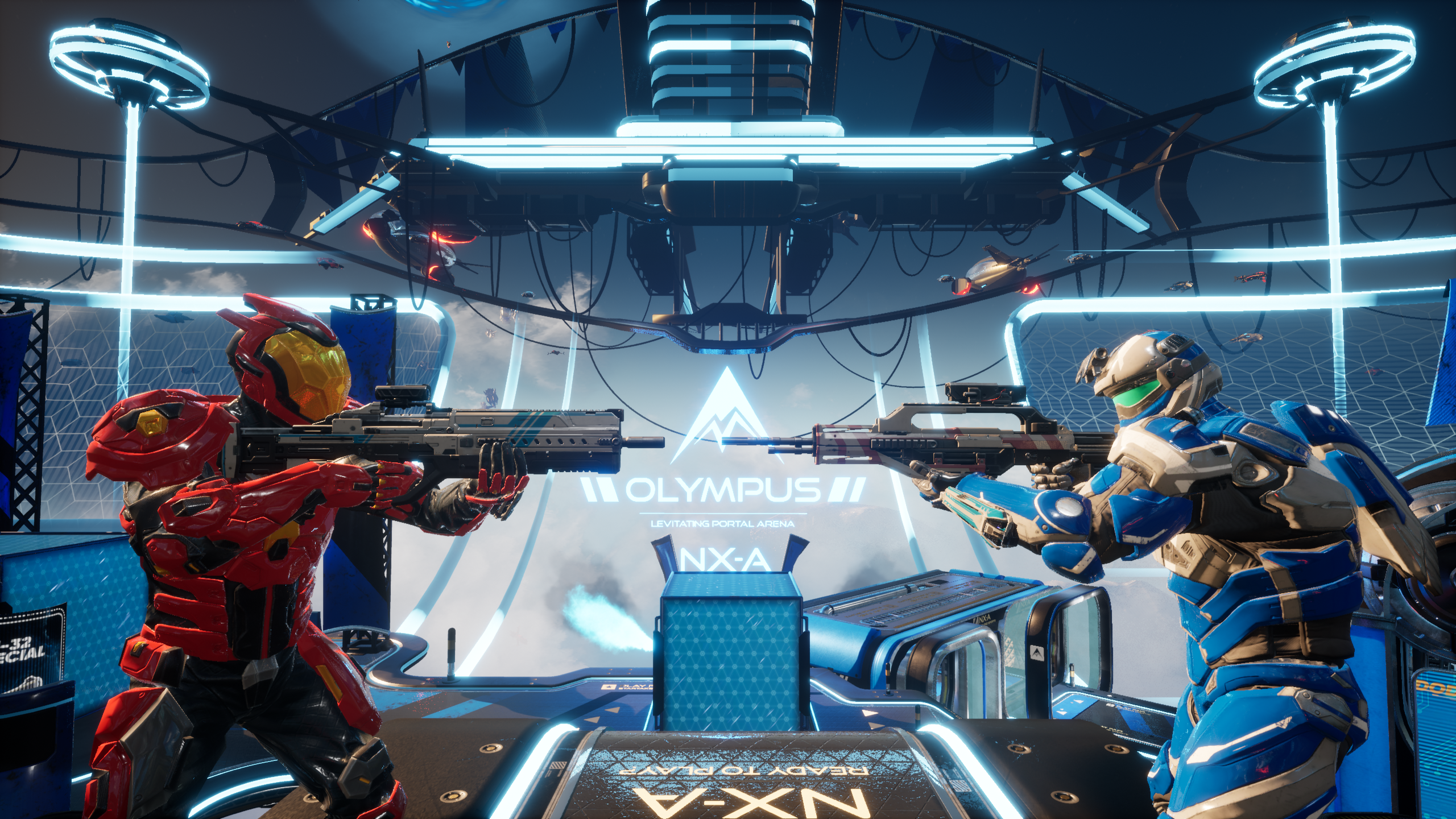 Splitgate: Arena Warfare Does the Unthinkable by Adding