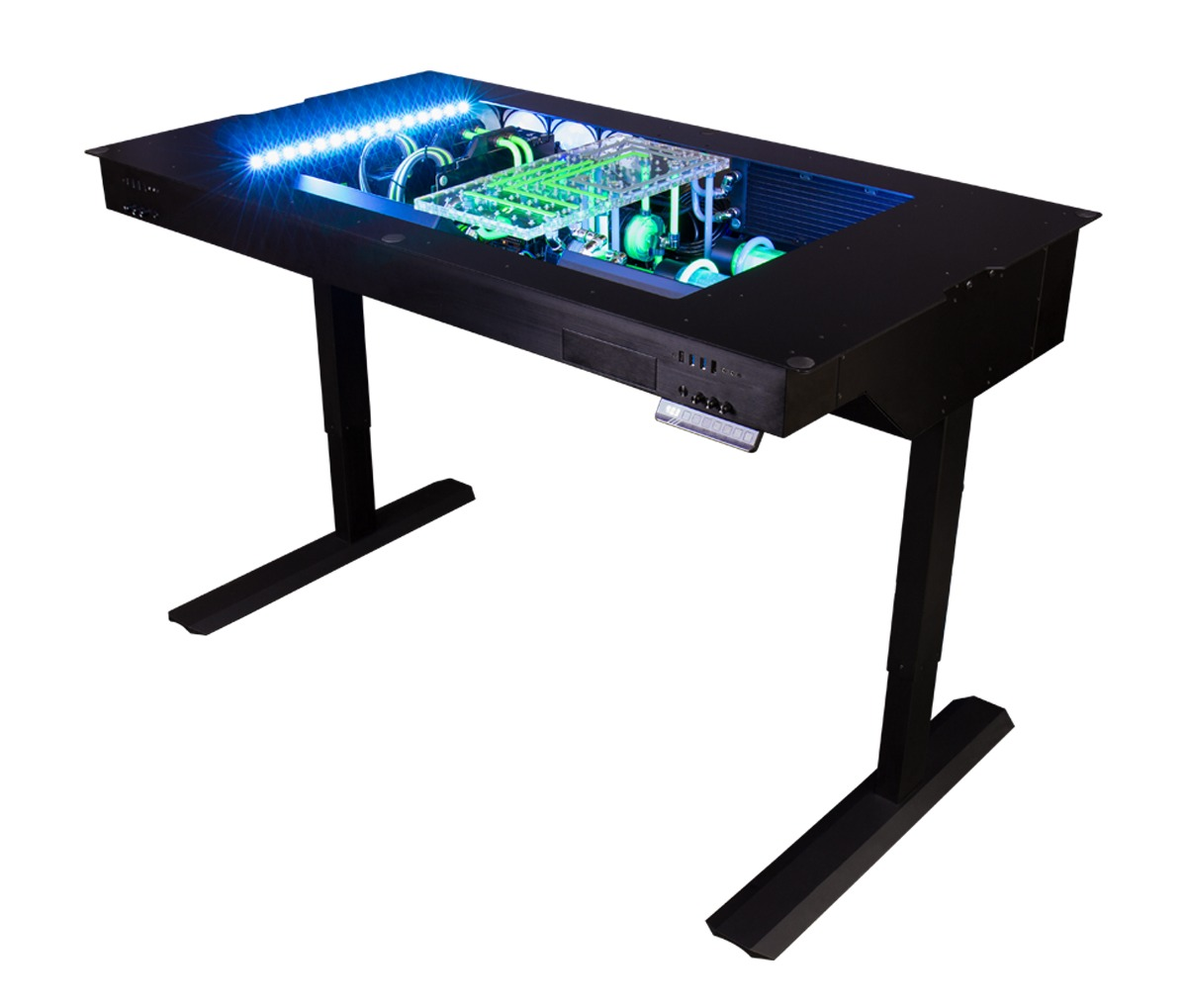 Picture of: This Watercooled Gaming Desk Was Designed To Push Boundaries