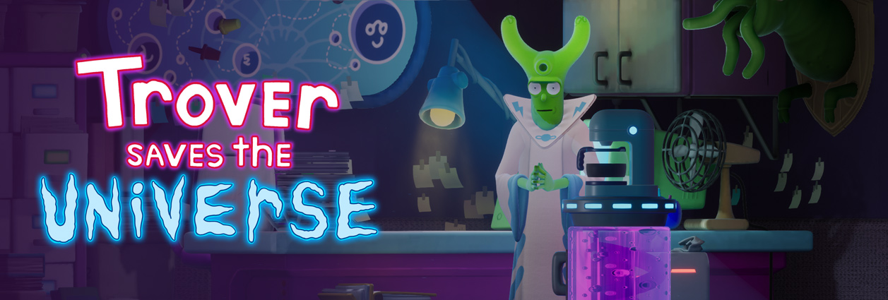 Rick And Morty Creator Justin Roiland S Latest Game Is Trover Saves